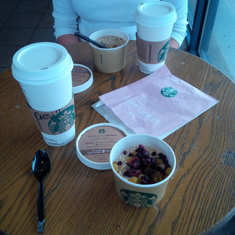 Mmm, breakfast with the stunning sara a few days ago.